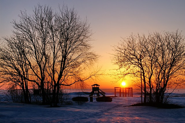 Oulu - Playground at Winter