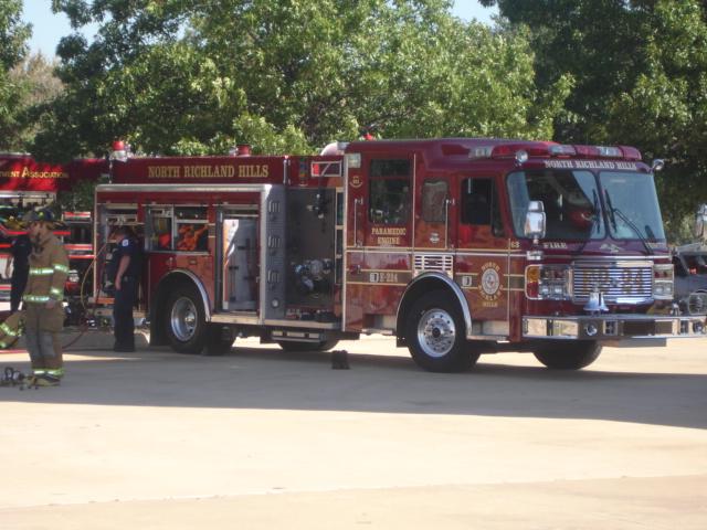North Richland Hills Fire Department E224 | 2002 American La