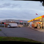 The Shell station at the corner of Merivale Road and Hunt Club Road in Nepean...