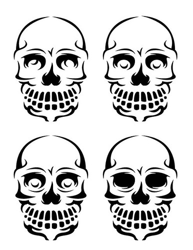 Pumpkin Pattern - Skulls! | by chrisrushing