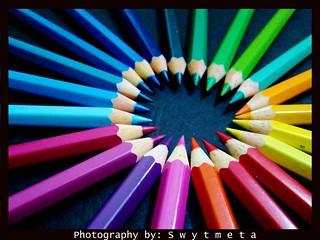 pattern - color pencils