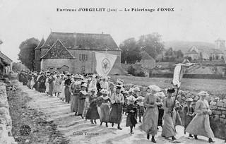 Pèlerinage d'Onoz en 1920