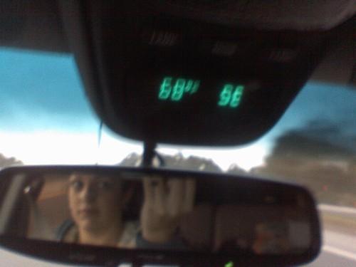 se mirror view florida rear cellphone temperature southeast 68 degrees