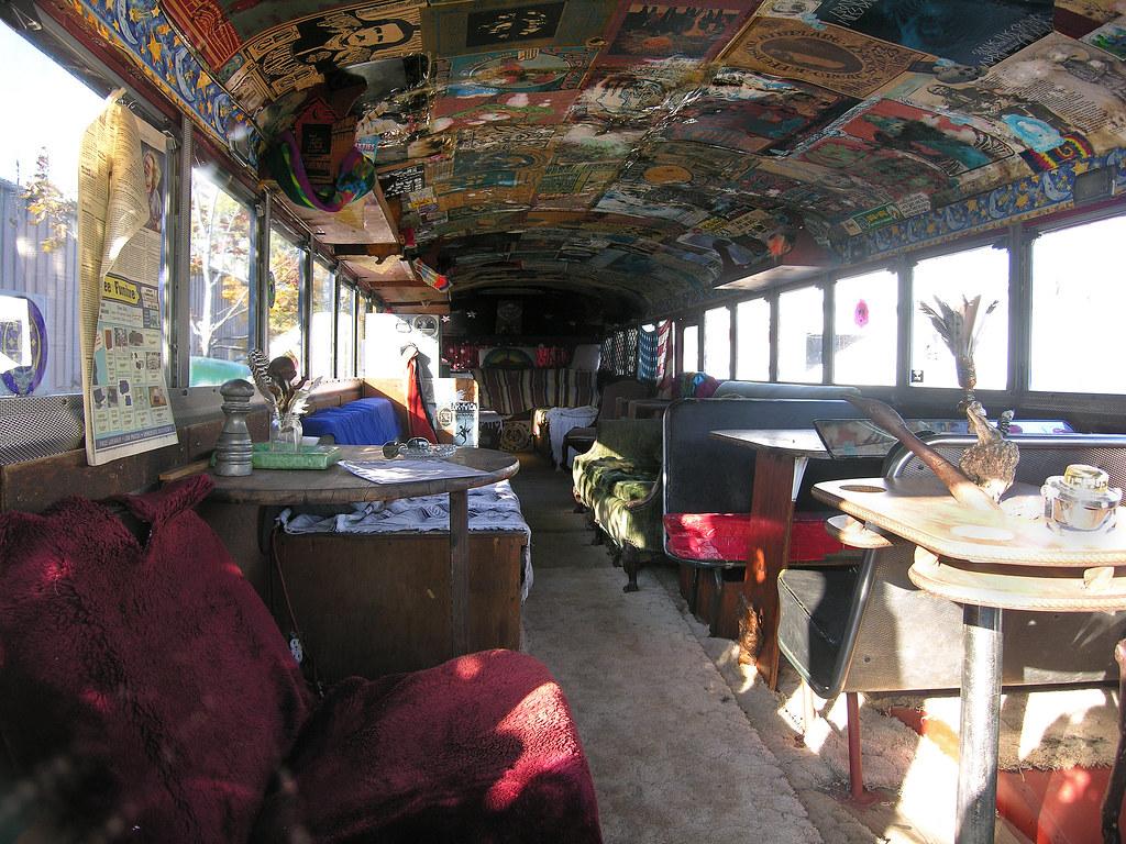 Inside The Grateful Dead 1965 Bus Volo Auto Museum | Flickr