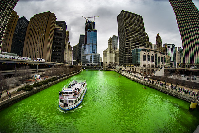 The Greening of the Chicago River - 2008 Edition