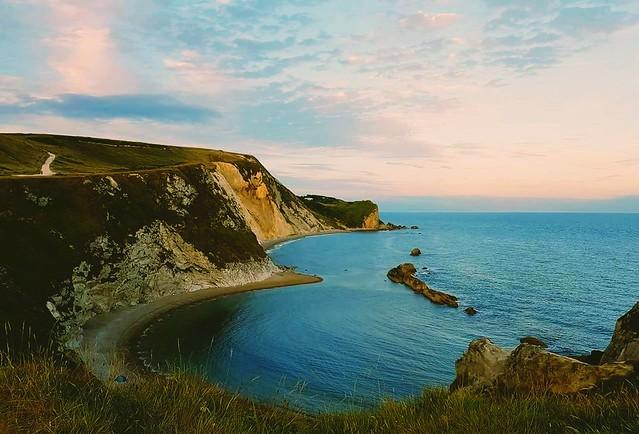 Man o war bay, Jurassic Coast, Dorset