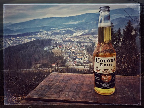 outdoor nature landscape hiking afternoon corona beer view velenje koželj snapseed