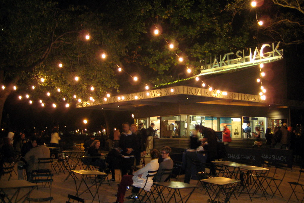 NYC - Madison Square Park - Shake Shack | Danny Meyer's alfr