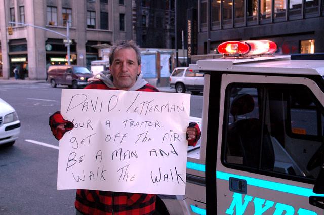 Richard Castellano Outside Of The Ed Sullivan Theater Flickr