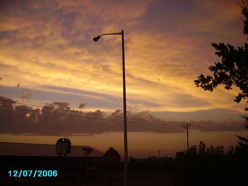 sunset southdakota beresford