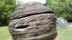 Immense boulder in Rock City, Kansas (Finis)