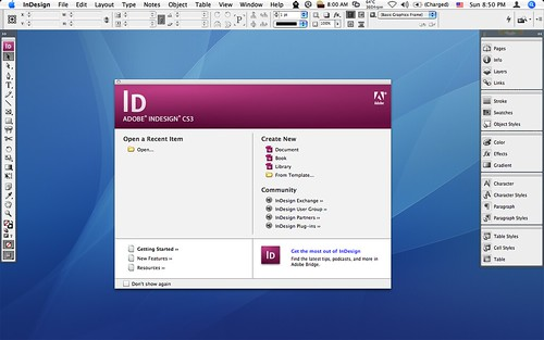 Adobe InDesign CS3 | New Version! New Interface! | FHKE | Flickr