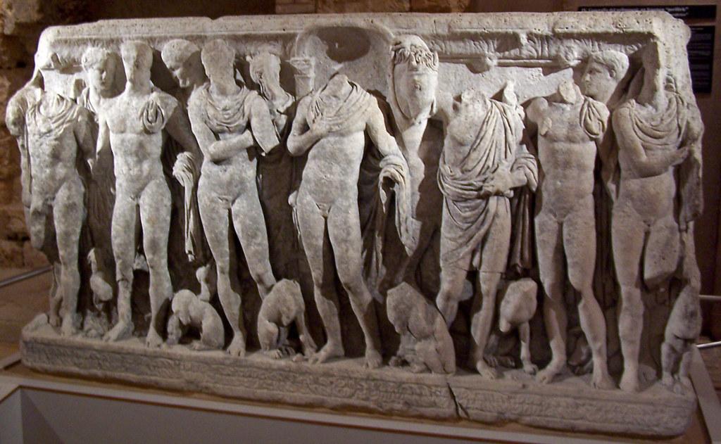 Sarcòfag d'Hipòlit (davant)