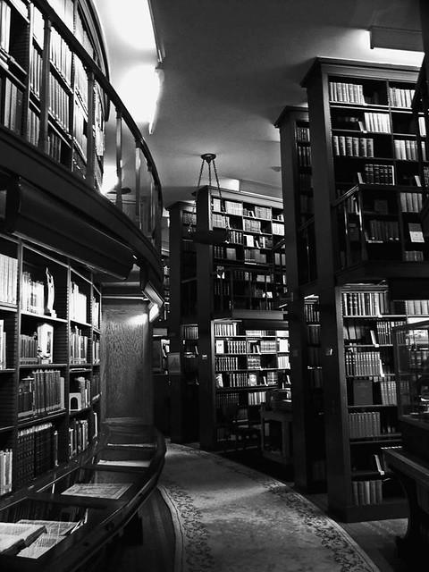 Masonic Library Stacks