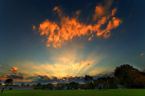sunset kids clouds environmental mn lanscape soccersunsetschoolrochester