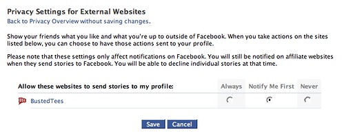 Facebook Beacon: Privacy Settings for External Websites (2…   Flickr