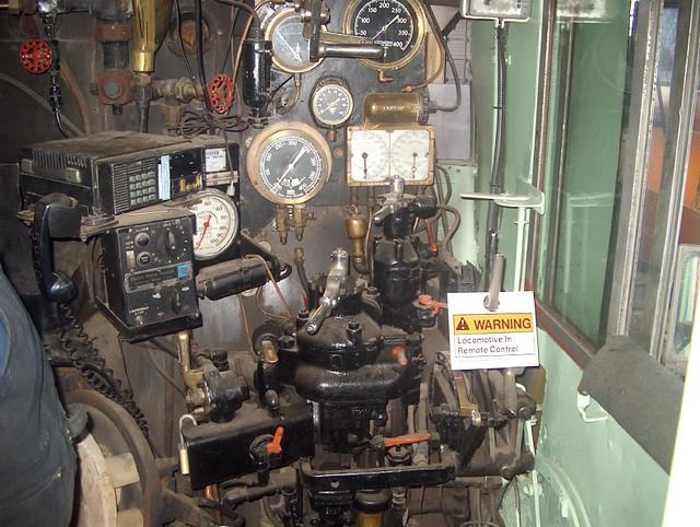Cab Interior of SP 4449