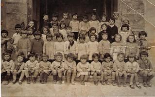 École maternelle d'Orgelet en 1934