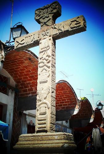 Una cruz..