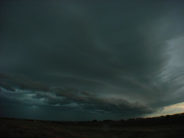 070504 - Nebraska Supercell with Shelf Cloud