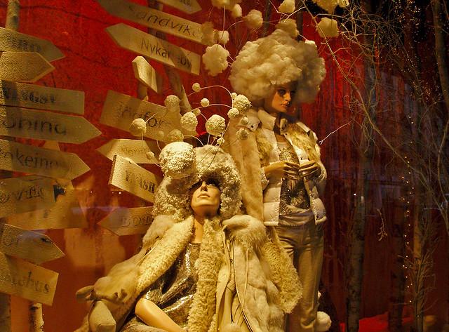 13928 Shopping in Paris France  巴黎 파리 窗口显示 윈도우 디스플레이
