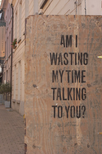 Am I Wasting My Time Talking To You? | by Nina Childish