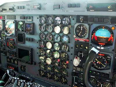 Lockheed L382 Hercules Cockpit