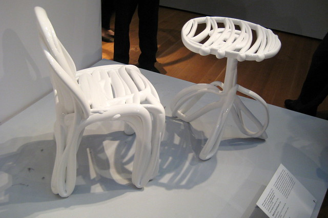 NYC - MoMA: Design and the Elastic Mind - Sketch Furniture