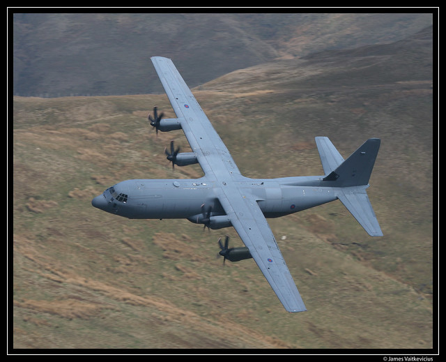 RAF C-130J - Bwlch Exit - 16th April 2008