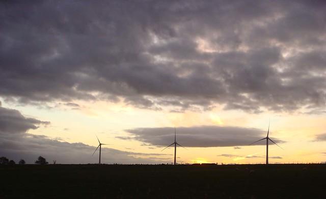 Windmills @ Sunrise