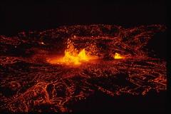 Kilauea Volcano at Mauna Ulu   by Image Editor