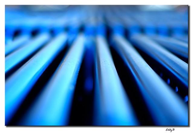 Perpectiva azul - Blue perspective