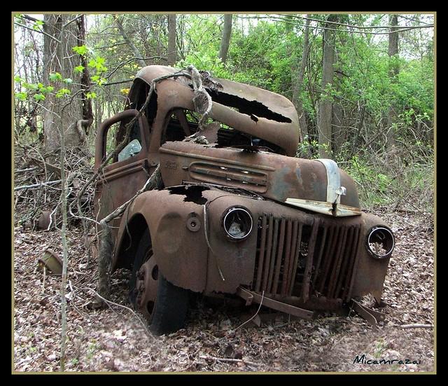 Rusty Ford Truck...in Harmersville...