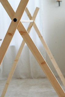 the A-frame tent tutorial | by rubyellen