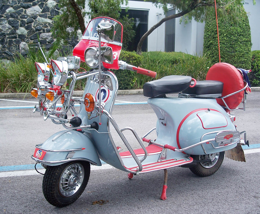 My Vintage Vespa | My restored 1963 Vespa, acquired from Ita… | Flickr