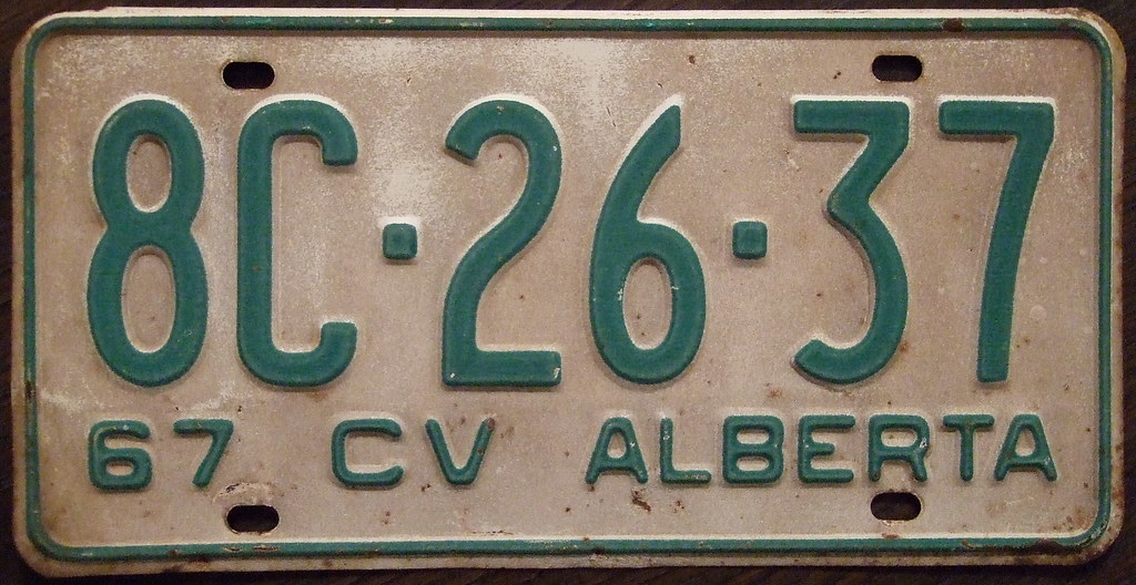alberta 1967  cv  commercial vehicle