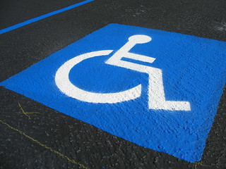 Handicapped Parking Space | by Accretion Disc