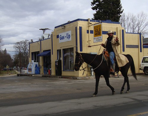 Bill Inman and Blackie on Haywood Road | by zen