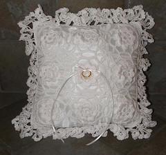 Crochet Ring Bearer Pillow