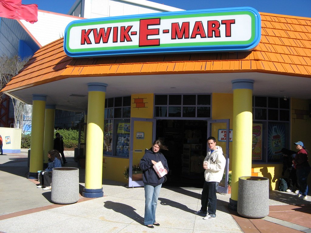 Kwik E Mart Kwik E Mart Universal Studios Orlando Nick Traveller Flickr