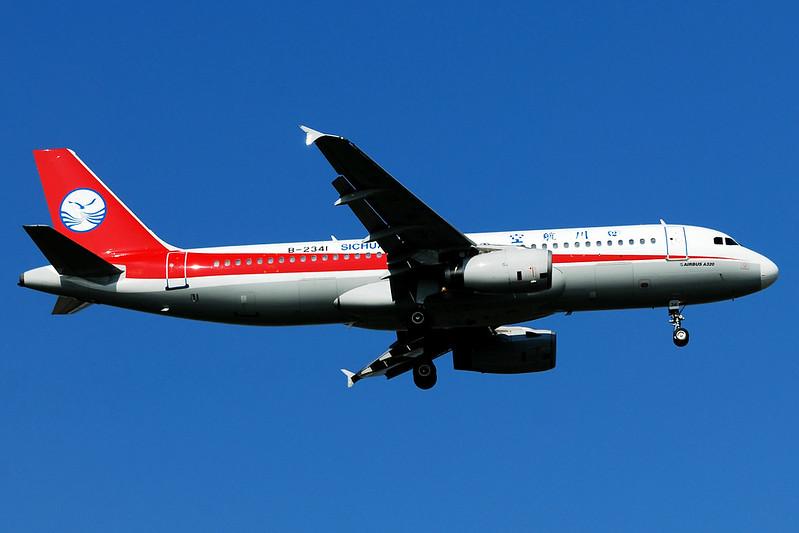 Sichuan Airlines Airbus A320-232 B-2341  MSN 551