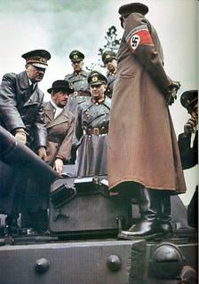 Hitler and Ferdinand Porsche (1)   GLORY. The largest