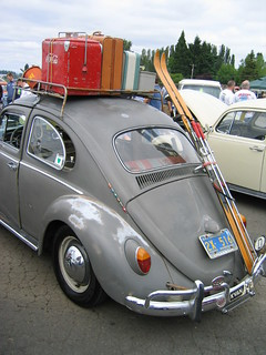 Not everything fits IN your car!