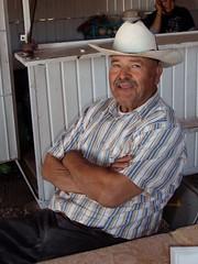 Epifanio, en el cruzero al oeste de Santa María del Oro, Durango, Mexico