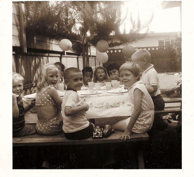 Birthday Party on Barrydale Street 1963