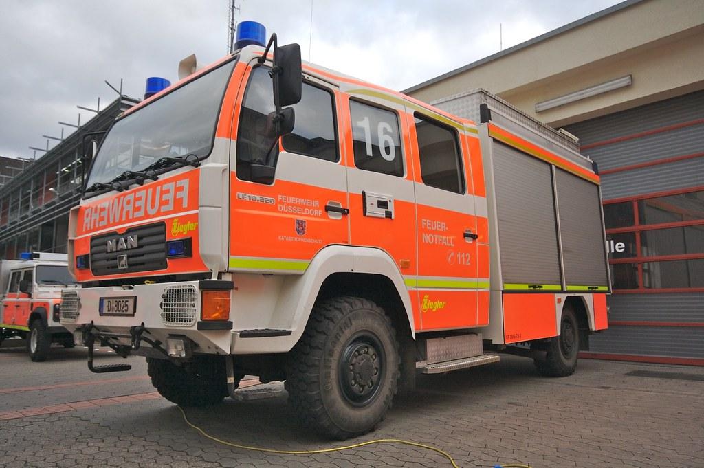 Das LF20/6-TS   Das LF20/6-TS der Feuerwehr Düsseldorf ist