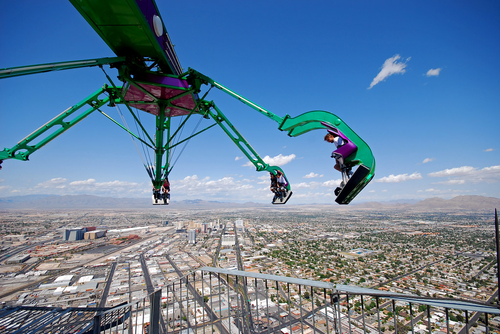 Insanity Stratosphere Tower Las Vegas The Insanity Ride O Flickr