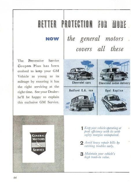 1956 General Motors South Africa p1