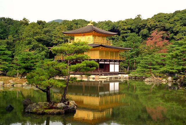 Temple of the Golden Pavilion Kyoto Japan