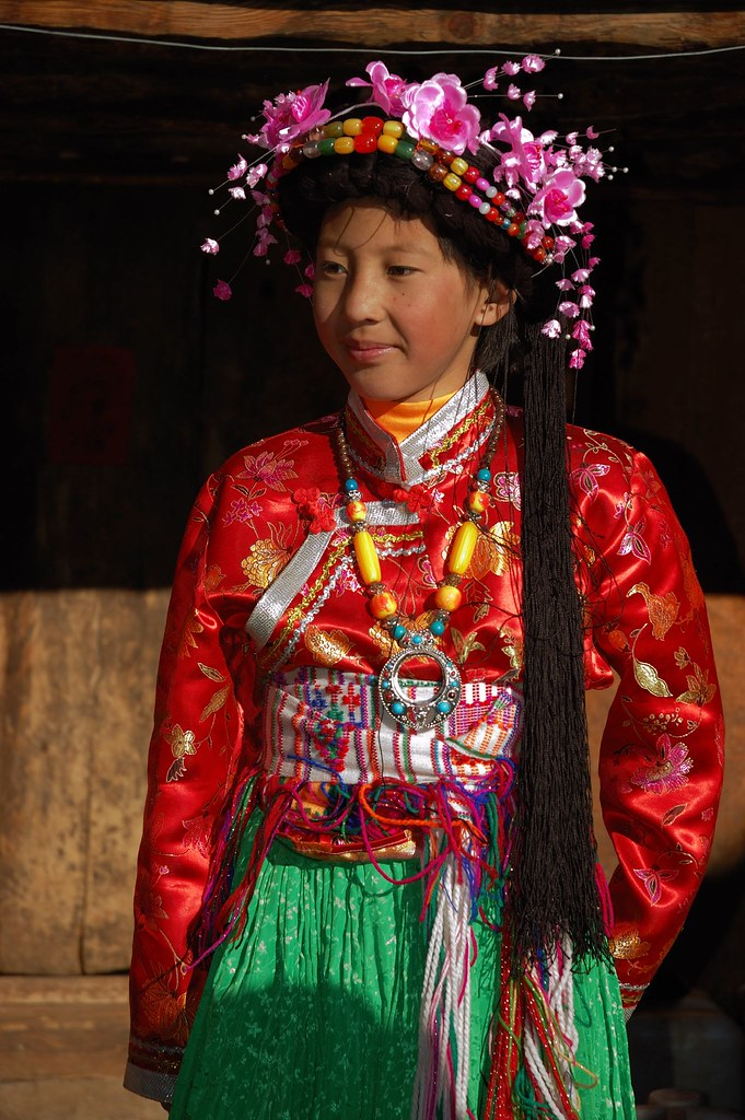 Mosuo Girl | Mosuo is a race of matriarchal society in Lu Gu… | Flickr